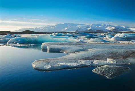porte pour chambre papier peint panoramique image de la banquise au pôle nord