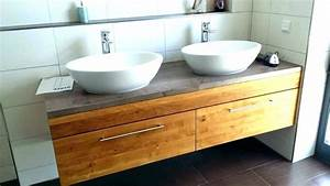 Waschtischplatte Holz Massiv : waschtisch holzoptik ~ Yasmunasinghe.com Haus und Dekorationen