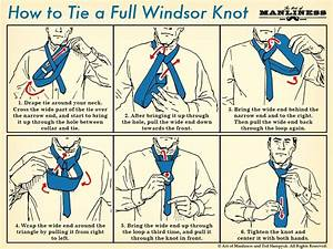 How To Tie The Full Windsor Knot