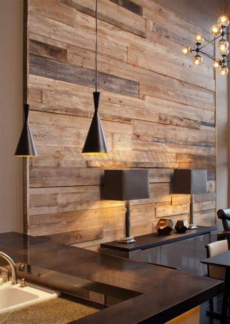 Wandverkleidung Küche Holz by Sch 246 Nes Wandpaneel Aus Holz Und Vier Len Ideen