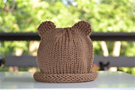 ravelry baby bear hat pattern  gilda knits