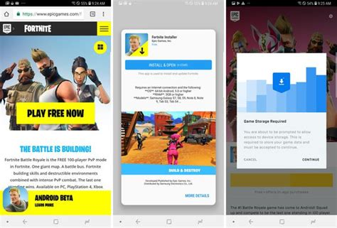 fortnite installer how to install fortnite on your android phone cnet