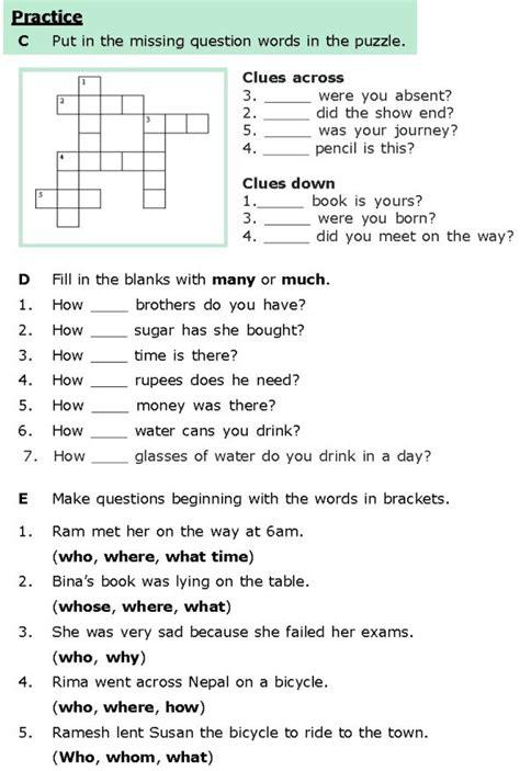 grade  grammar lesson  questions grammar lessons