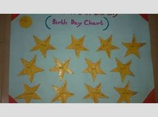 How To Make a Birthday Chart for Children DIY Crafts