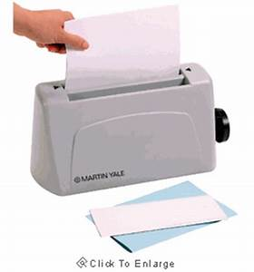 martin yale premier p6400 desktop manual feed letter With manual letter folder