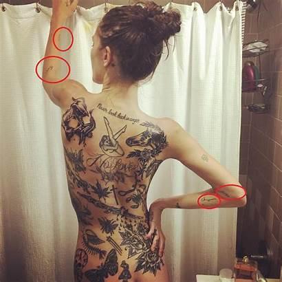 Tattoos Catherine Mcneil Tattooed Heavily Hands Tattoo