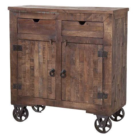 Stein World Cordelia Wood Rolling Kitchen Cart  Kitchen