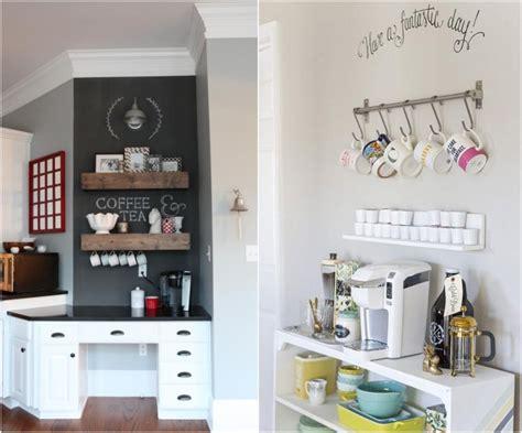 idee deco pour cuisine idée déco cuisine pour les passionnés de café 25 exemples