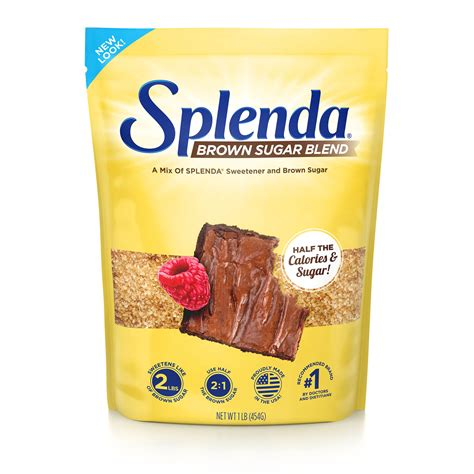 I've been canning fruit with splenda for the past several years as my husband is diabetic. Splenda Brown Sugar Blend | Half The Calories Of Brown Sugar!
