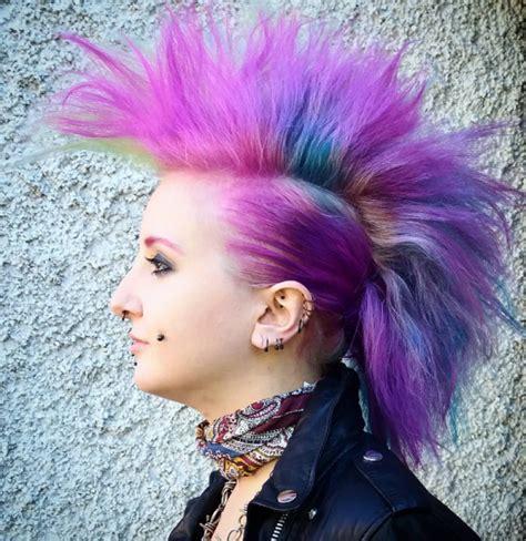 punk frisuren frau lange haare selber machen frisuren