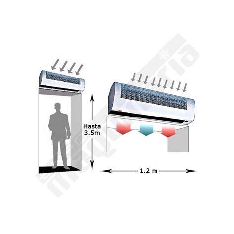 cortina aire cortina aire eckeh 34w climatizaci 243 n fr 237 o y calor bares