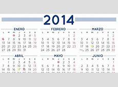 Calendario laboral 2014 Un solo macropuente y 9 festivos