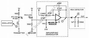 infrared ir proximity distance sensor circuit max4230 With ir sensor diagram