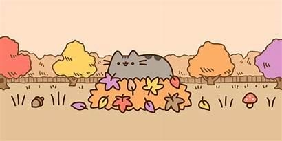 Pusheen Stickers Desktop Cat Pc Wallpapers Cartoon
