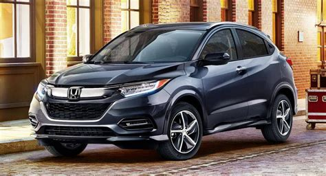 Indiabound 2019 Honda Hrv Gains Styling Updates With