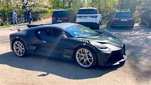 World's First $6m Bugatti Divo Start Up! - YouTube  Bugatti