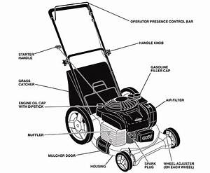 Diagram Of Lawn Mower Engine