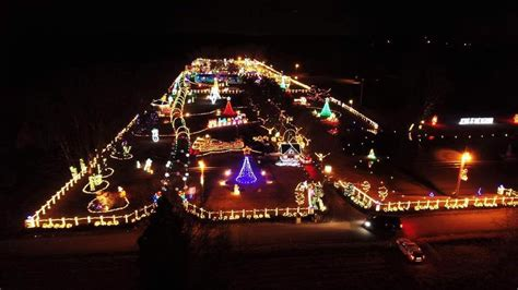3 drive thru holiday light displays in tennessee the