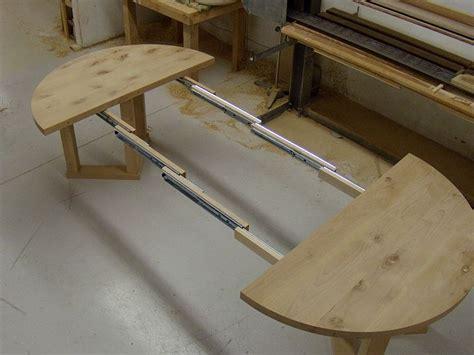 alder extension table custom furniture  cabinetry