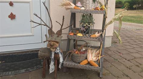 Herbstdeko Holz Garten by Dekorieren Mit Holz Im Garten Denvirdev Info
