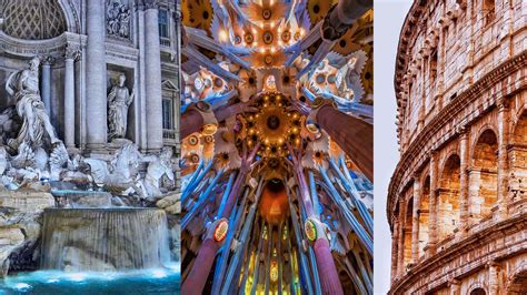 2-in-1 Barcelona and Rome 8-or 10-day vacation with Air ...