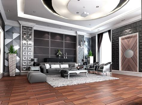 Melodramatic Expressions of Elegant Living Room Designs