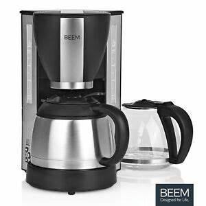 Kaffeemaschine Timer Thermoskanne : beem kaffeemaschine thermoskanne timer 8 tassen ~ Watch28wear.com Haus und Dekorationen