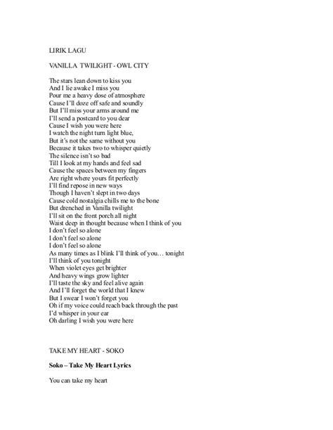 not lagu kiss the rain lirik lagu