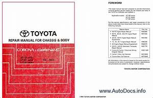 Toyota Corona  Carina E Repair Manual Order  U0026 Download