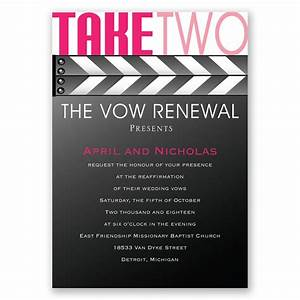 take two vow renewal invitation invitations by dawn With take 2 wedding invitations