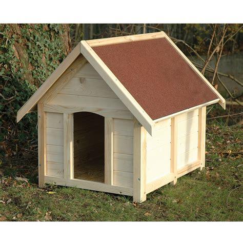 hundehütte aus holz hundeh 252 tte aus holz wetterfest 92 x 75 x 80 cm hundehaus mit dach rot gedeckt ebay