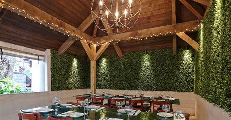 easygrass artificial ivy living wall  restaurant wall