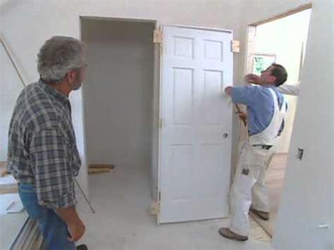 how to install doors how to install interior door modern colonial bob vila