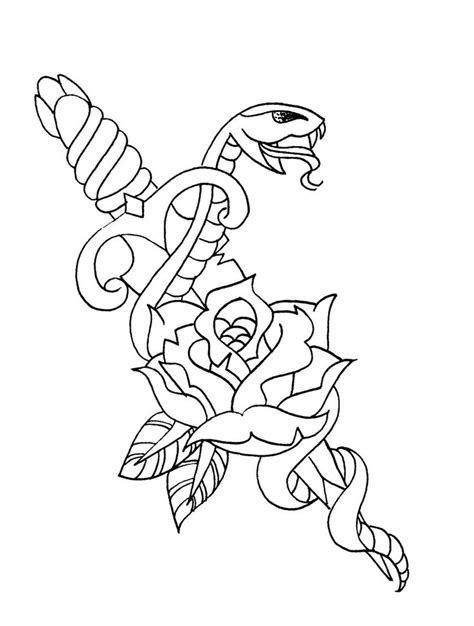 Traditional Tattoo Outline - WeSharePics | Traditional