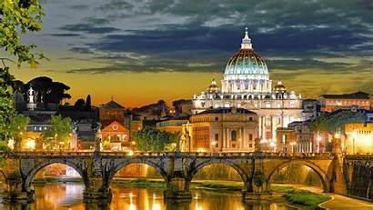 Vatican Dusk Landscape Backiee