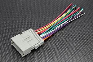 New Car Stereo Radio Wire Wiring Harness Adapter For