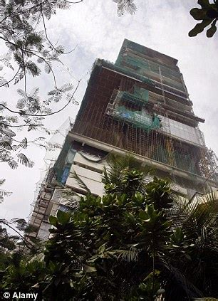 Mukesh Ambani India's richest man builds home valued at £ ...