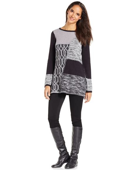 style and co sweaters style co only at macy 39 s in black lyst
