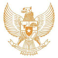 logo garuda pancasila hitam putih vector cdr  ai