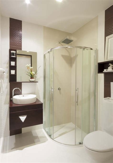 beautiful  functional small bath design modern walk