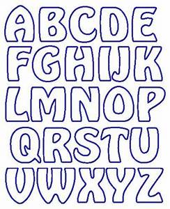 Applique letter templates free google search letters for Fabric letter templates