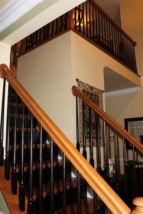 Black Staircase Banister by Best 25 Black Banister Ideas On Stairs