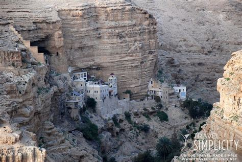 st george s monastery in wadi qelt the valley of the