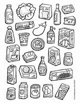 Colouring Pages Supermarket Kiddicolour Colour Things Lots sketch template