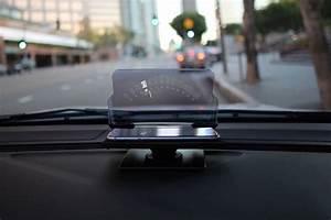 Affichage Tete Haute : l affichage t te haute en auto avec l 39 iphone c 39 est simple comme le hudway glass ~ Maxctalentgroup.com Avis de Voitures