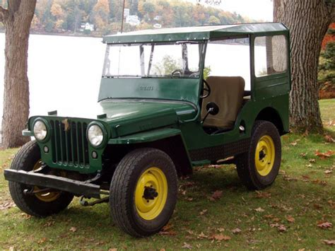 kaiser willys jeep kaiser willys jeep of the week 001