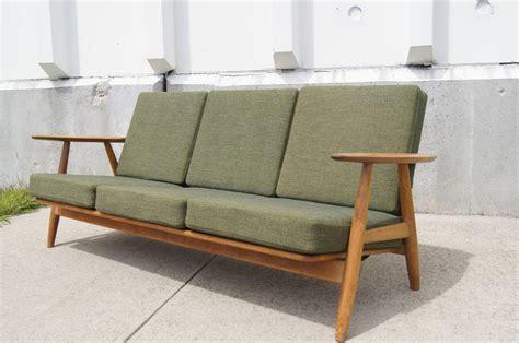 Ge-140 Sofa By Hans Wegner For Getama At 1stdibs