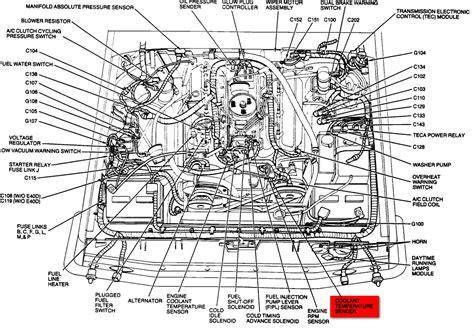 6 best images of 7 3 liter diesel engine diagram ford 7