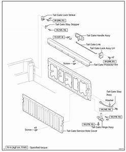 2014 Dodge Ram 1500 Tailgate Parts Diagram