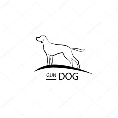 Dog symbol. Pet logo design. — Vector de stock ...